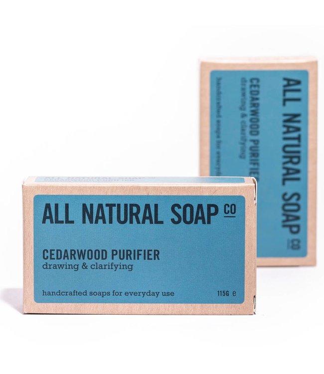 All Natural Soap Cedarwood Purifier soap