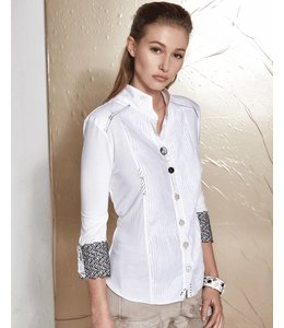 Elisa Cavaletti Short blouse white