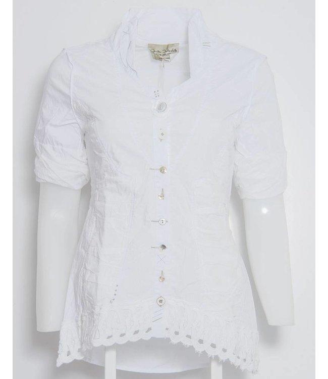 Elisa Cavaletti White blouse
