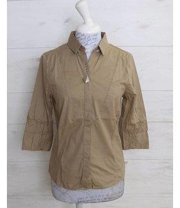 Elisa Cavaletti Short blouse taupe