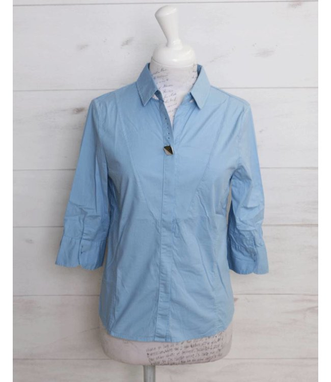 Elisa Cavaletti Short blouse light blue