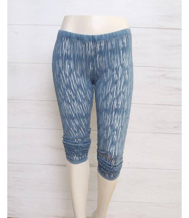 Elisa Cavaletti 7/8 leggings blue