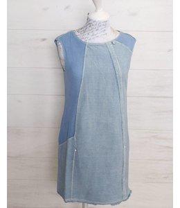 Elisa Cavaletti Sleevless dress light blue