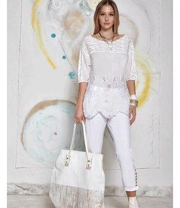 Elisa Cavaletti White shirt