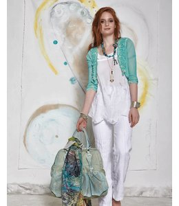 Elisa Cavaletti White sleeveless top