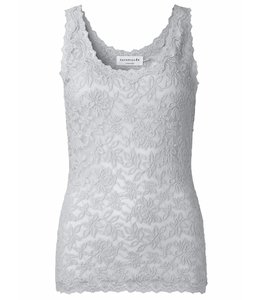 Rosemunde Lace top silver grey