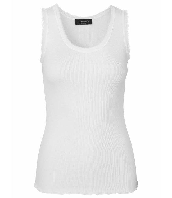 Rosemunde Basic top pearl white