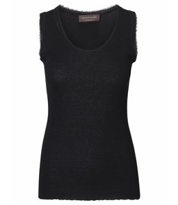 Rosemunde Basic top black