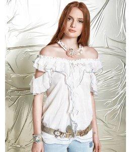 Elisa Cavaletti Blusen-Shirt weiss