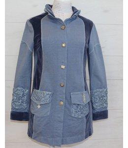 ArtePura Lange Jacke jeansblau