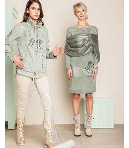 Elisa Cavaletti Kleid grün (ohne Stola)