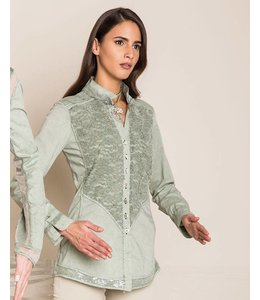 Elisa Cavaletti Blouse faded green