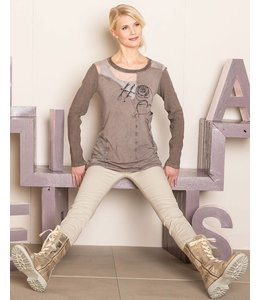 Elisa Cavaletti Long-sleeved top mauve