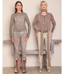 Elisa Cavaletti Long-sleeved shirt mauve