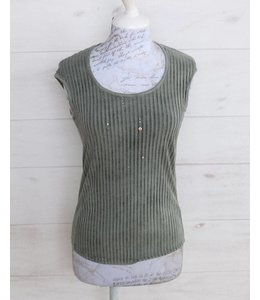 Elisa Cavaletti Top faded green