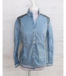 Elisa Cavaletti Blouse faded blue