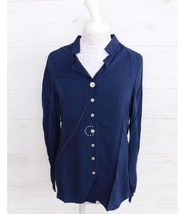 Elisa Cavaletti Blouse dark blue