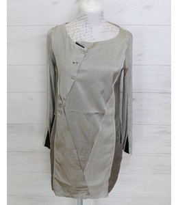Elisa Cavaletti Dress silver grey