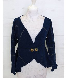 Elisa Cavaletti Short jacket dark blue