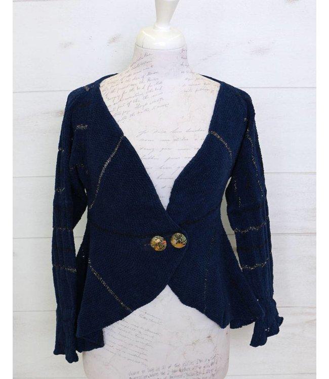 Elisa Cavaletti Short jacket dark blue