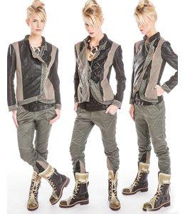 Elisa Cavaletti Jacket black-green