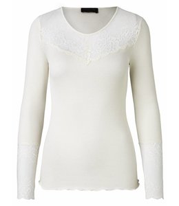 Rosemunde Long-sleeved shirt ecru