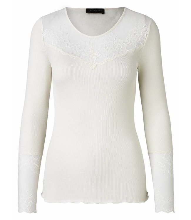 Rosemunde Long-sleeved shirt ecru