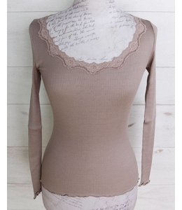 Rosemunde Long-sleeved shirt mauve