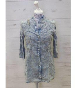 Elisa Cavaletti Long blouse Tradizione