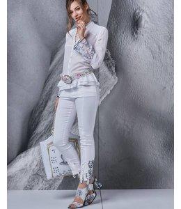 Elisa Cavaletti Jeans weiss