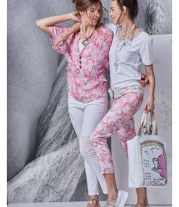 Elisa Cavaletti 7/8 trousers St. Incontro Bellini