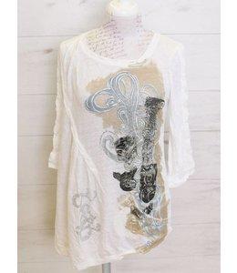 Elisa Cavaletti T-Shirt weiss
