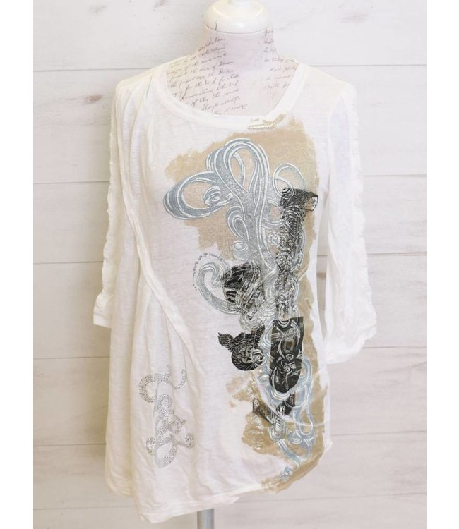 Elisa Cavaletti T-shirt white