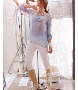 Elisa Cavaletti Romantic shirt-style blouse Tradizione