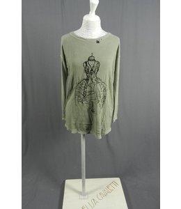 Elisa Cavaletti T-Shirt dunkelgrün