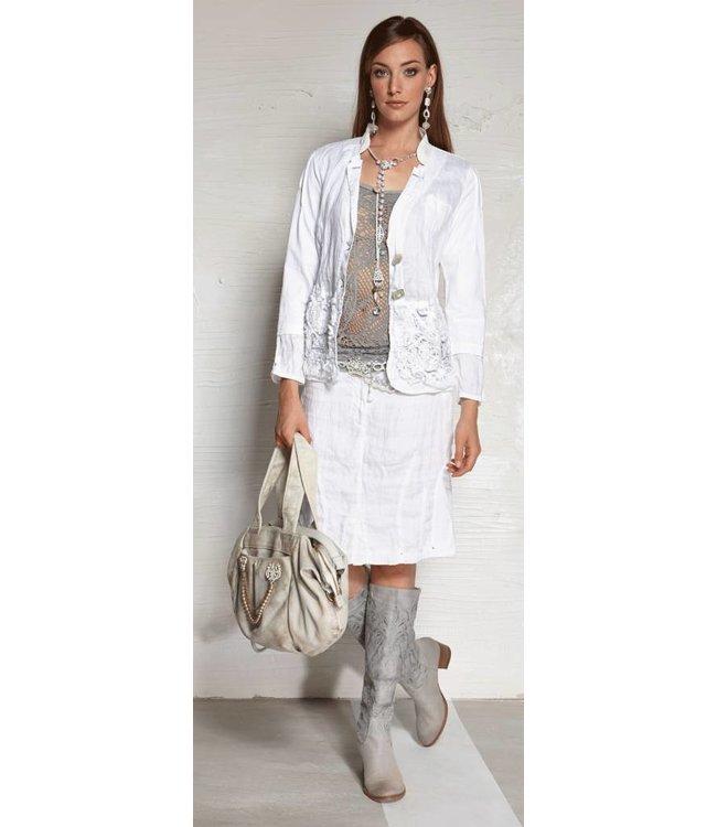 Elisa Cavaletti jupe blanche