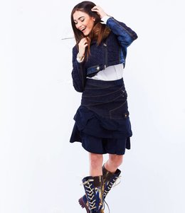 Elisa Cavaletti Jupe en jean Denim Blu