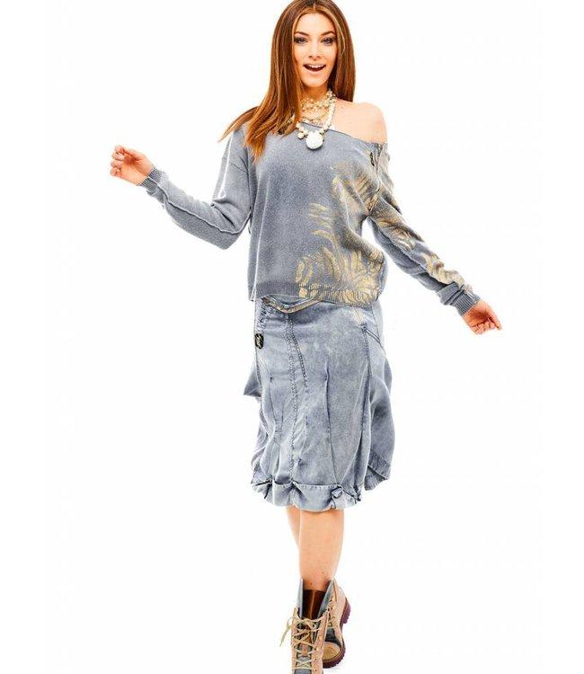 Elisa Cavaletti Skirt Volo Oro