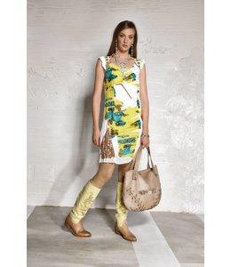 Elisa Cavaletti robe d'été multicolore
