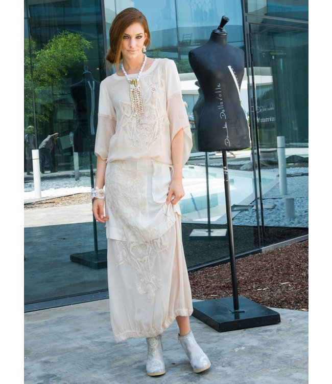 Elisa Cavaletti Long skirt Gloss Gloss