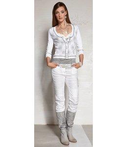 Elisa Cavaletti jean blanc
