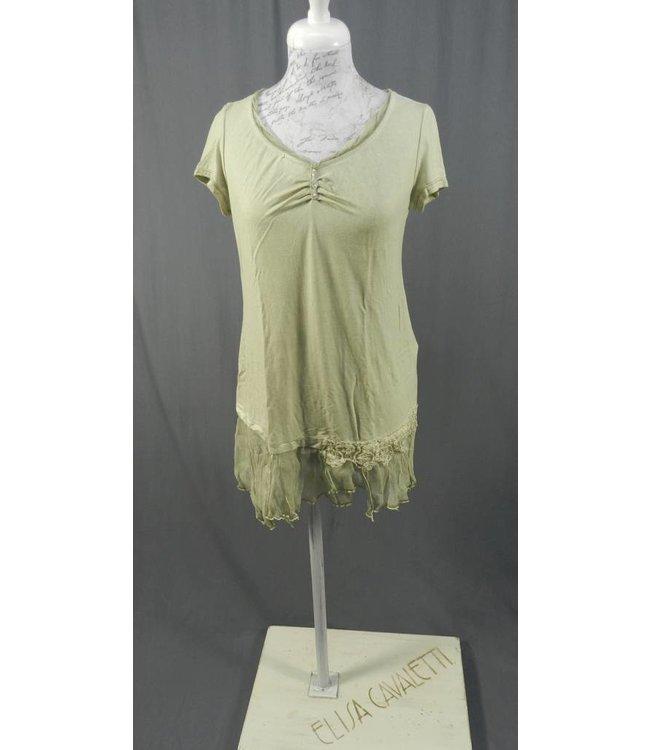 Elisa Cavaletti Longshirt grün