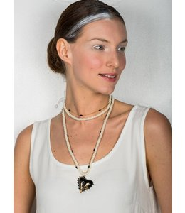 Elisa Cavaletti Necklace Bianco Nero