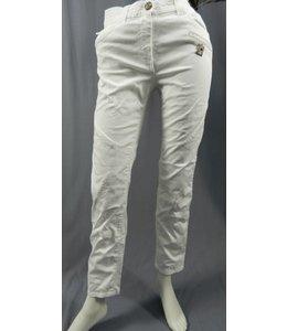 Elisa Cavaletti Pantalon blanc nacré