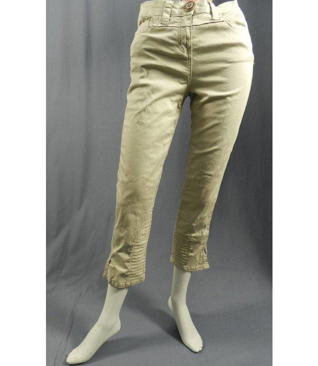 Elisa Cavaletti Pantalon 7/8 kaki