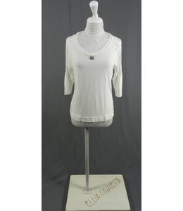 Eleonora Cavaletti t-shirt blanc