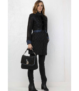 Elisa Cavaletti Winter coat Nero Blu