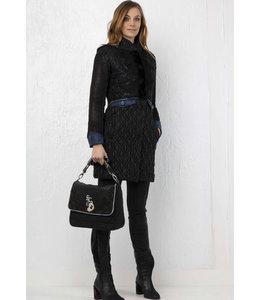 Elisa Cavaletti Winter coat Nero Blu