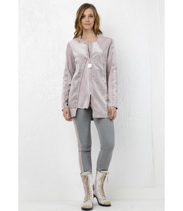 Elisa Cavaletti Hooded jacket Riflesso