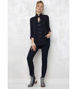 Elisa Cavaletti Basic-Jeans Denim Blu